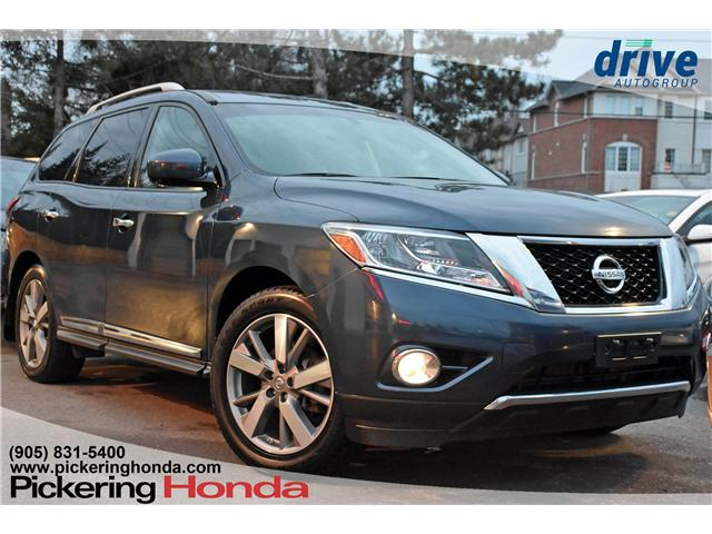 2014 Nissan Pathfinder Platinum (Stk: U225A) in Pickering - Image 1 of 30