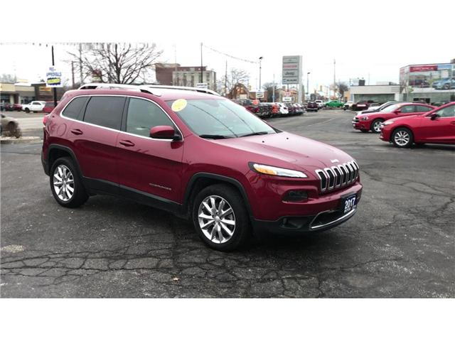 2017 Jeep Cherokee Limited (Stk: 44629A) in Windsor - Image 2 of 11