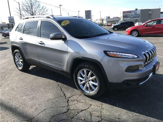 2016 Jeep Cherokee Limited (Stk: 44661) in Windsor - Image 1 of 12