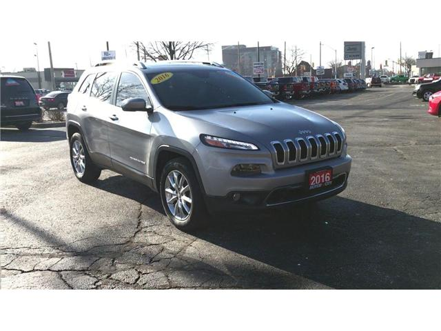 2016 Jeep Cherokee Limited (Stk: 44661) in Windsor - Image 2 of 12