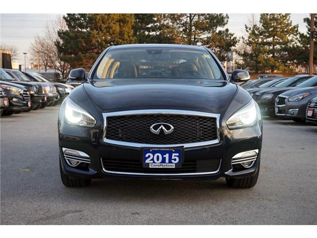 2015 Infiniti Q70L 5.6| AWD| DELUXE TOURING| TECHNOLOGY PKG| BOSE 5.1 (Stk: P3128) in Burlington - Image 2 of 30