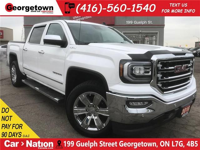 2018 GMC Sierra 1500 SLT | 5.3L V8 | SUNROOF | LEATHER | NAVI | TONNEAU (Stk: ST19043A) in Georgetown - Image 1 of 30