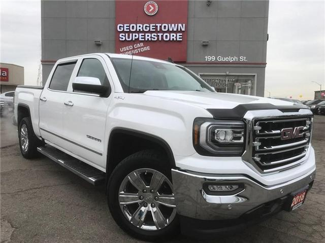 2018 GMC Sierra 1500 SLT | 5.3L V8 | SUNROOF | LEATHER | NAVI | TONNEAU (Stk: ST19043A) in Georgetown - Image 2 of 30