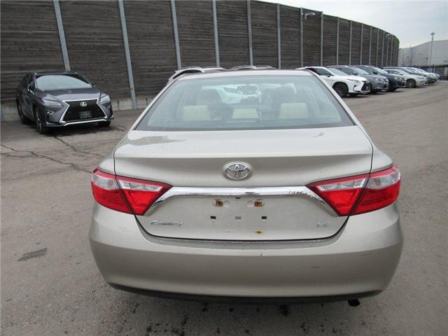 2016 Toyota Camry LE (Stk: 15827A) in Toronto - Image 4 of 13