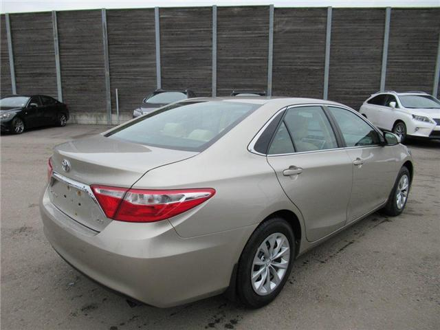 2016 Toyota Camry LE (Stk: 15827A) in Toronto - Image 12 of 13