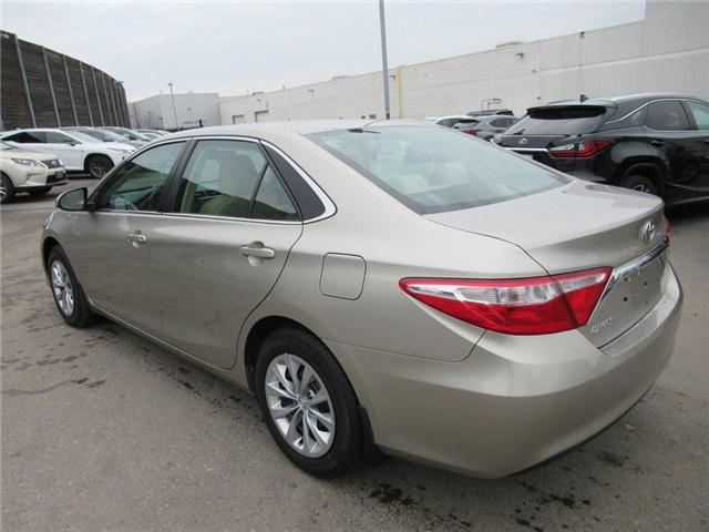 2016 Toyota Camry LE (Stk: 15827A) in Toronto - Image 13 of 13
