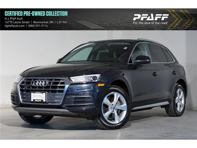 2018 Audi Q5 2.0T Progressiv (Stk: 53076) in Newmarket - Image 1 of 20