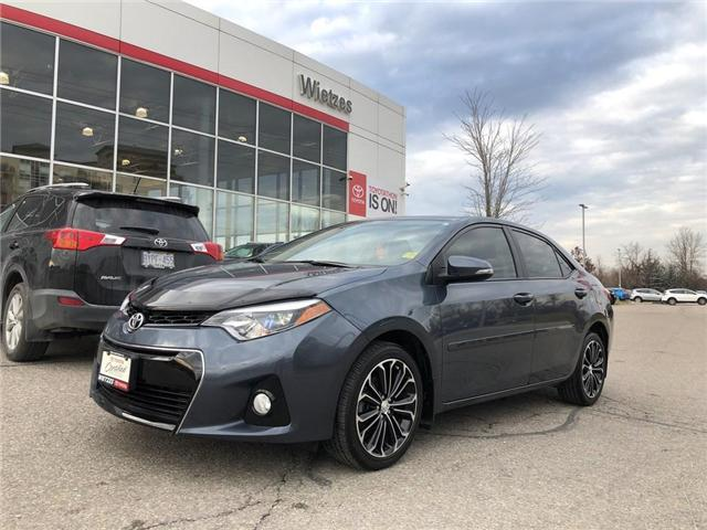 2016 Toyota Corolla S (Stk: U2182) in Vaughan - Image 1 of 20