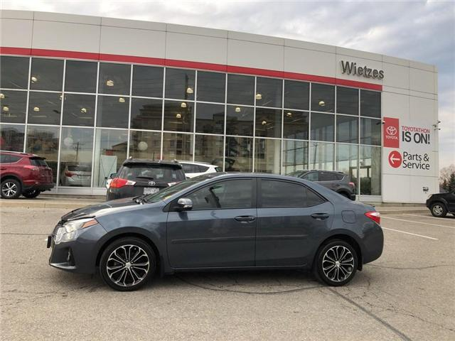 2016 Toyota Corolla S (Stk: U2182) in Vaughan - Image 2 of 20