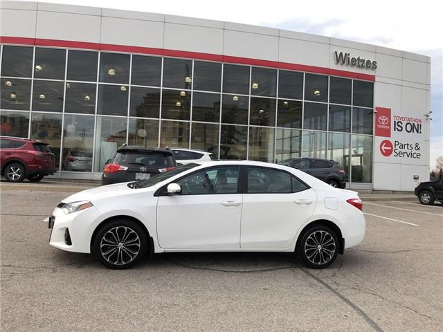2016 Toyota Corolla S (Stk: U2211) in Vaughan - Image 2 of 20