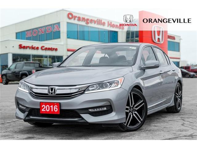 2016 Honda Accord Sport (Stk: C19014A) in Orangeville - Image 1 of 20