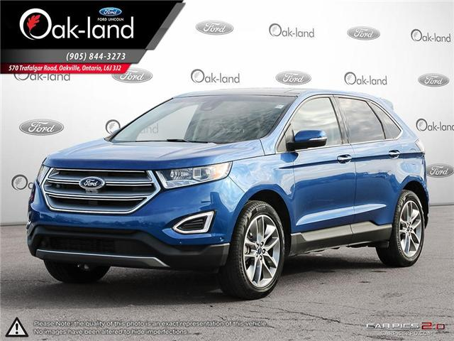 2018 Ford Edge Titanium (Stk: A3109) in Oakville - Image 1 of 25