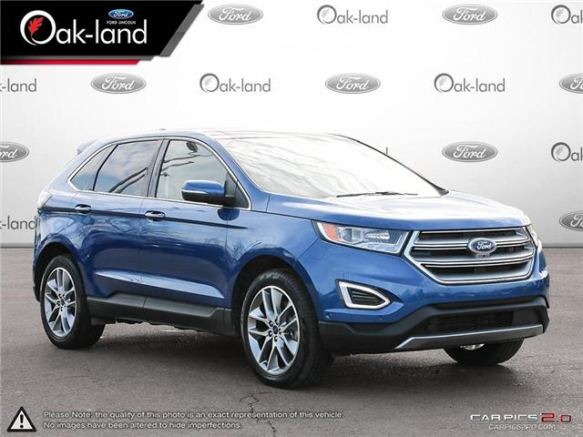 2018 Ford Edge Titanium (Stk: A3109) in Oakville - Image 7 of 25