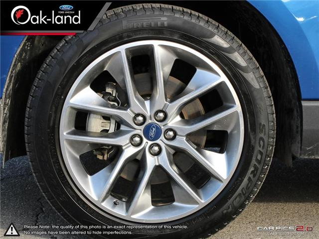 2018 Ford Edge Titanium (Stk: A3109) in Oakville - Image 18 of 25