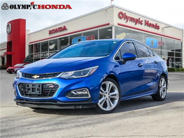 2016 Chevrolet Cruze Premier Auto (Stk: A8229A) in Guelph - Image 1 of 21