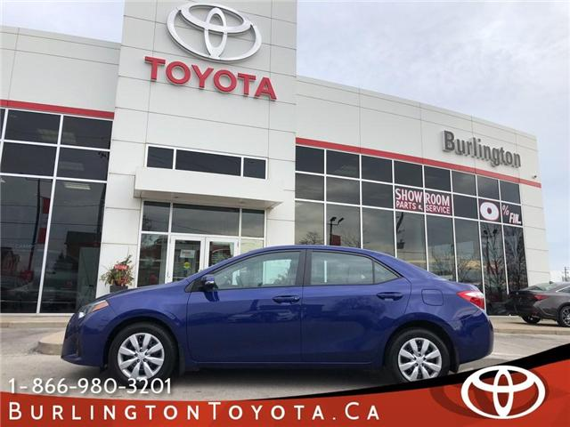 2016 Toyota Corolla S (Stk: U10508) in Burlington - Image 1 of 18