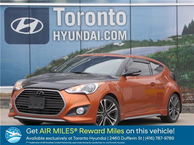 2016 Hyundai Veloster  (Stk: U06312) in Toronto - Image 1 of 15