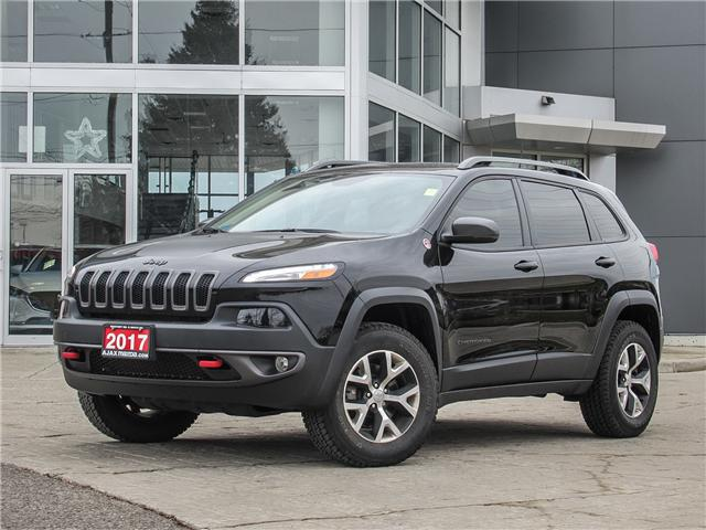 2017 Jeep Cherokee Trailhawk (Stk: 18-1042TA) in Ajax - Image 1 of 25