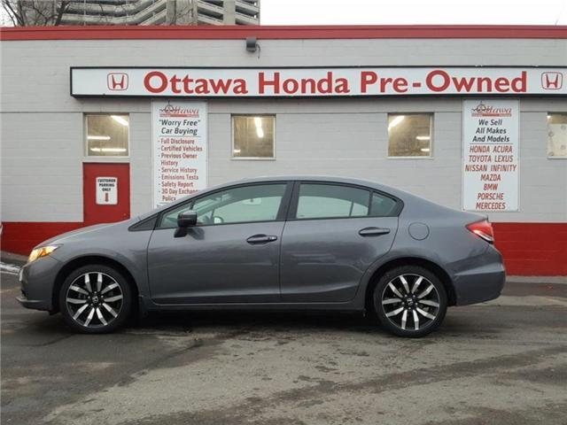 2015 Honda Civic Sedan Touring (Stk: H7370-0) in Ottawa - Image 1 of 12