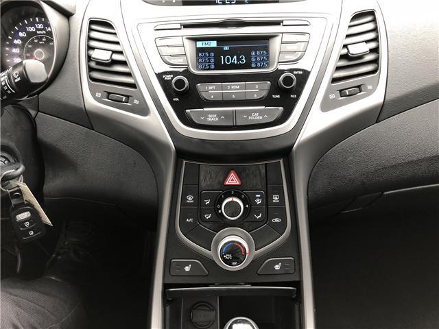 2015 Hyundai Elantra GL (Stk: 10122A) in Lower Sackville - Image 16 of 18