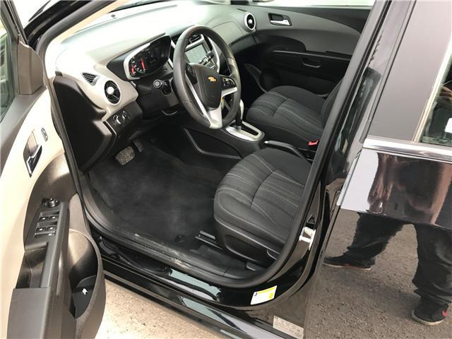 2017 Chevrolet Sonic LT Auto (Stk: NE100) in Calgary - Image 8 of 16