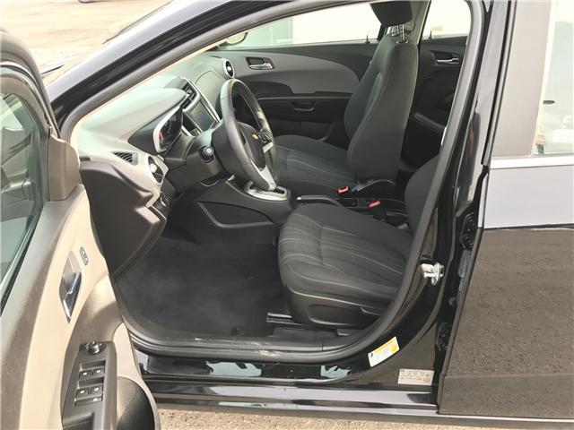 2017 Chevrolet Sonic LT Auto (Stk: NE100) in Calgary - Image 9 of 16