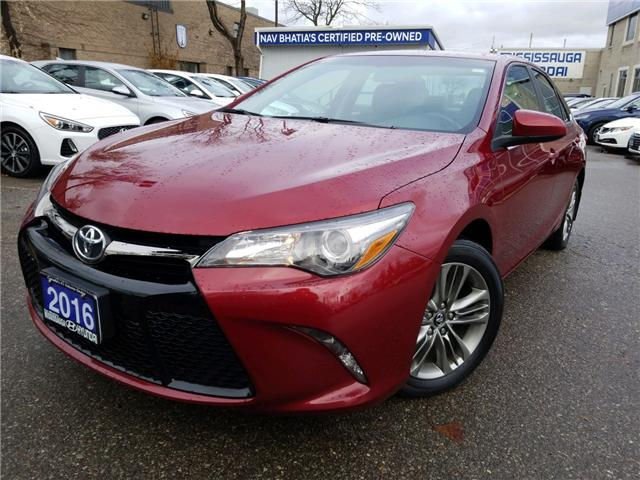 2016 Toyota Camry SE (Stk: op10076) in Mississauga - Image 1 of 17
