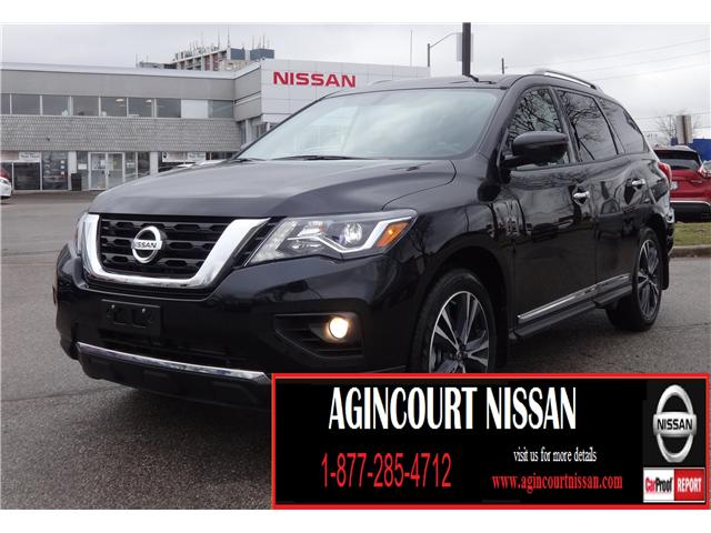 2018 Nissan Pathfinder Platinum (Stk: U12368) in Scarborough - Image 1 of 31