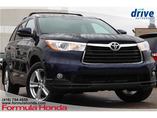 2016 Toyota Highlander XLE (Stk: B10804) in Scarborough - Image 1 of 29