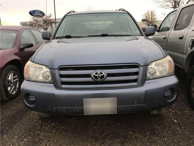 2005 Toyota Highlander 4WD V6 B PKG LEATHER, ALLOYS, POWER DRIVER SEATS,  (Stk: 42535A) in Brampton - Image 2 of 8
