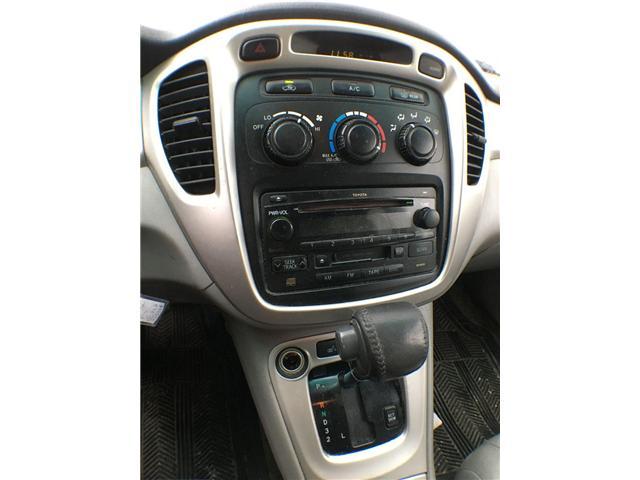2005 Toyota Highlander 4WD V6 B PKG LEATHER, ALLOYS, POWER DRIVER SEATS,  (Stk: 42535A) in Brampton - Image 7 of 8