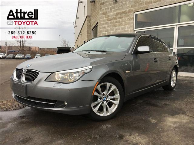 2009 BMW 5 SERIES 535I XDRIVE NAVI, HEATED SEATS & STEERING, ALLOYS, (Stk: 42708XA) in Brampton - Image 1 of 28