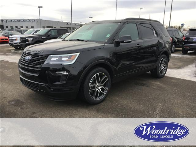 2019 Ford Explorer Sport (Stk: K-253) in Calgary - Image 1 of 5