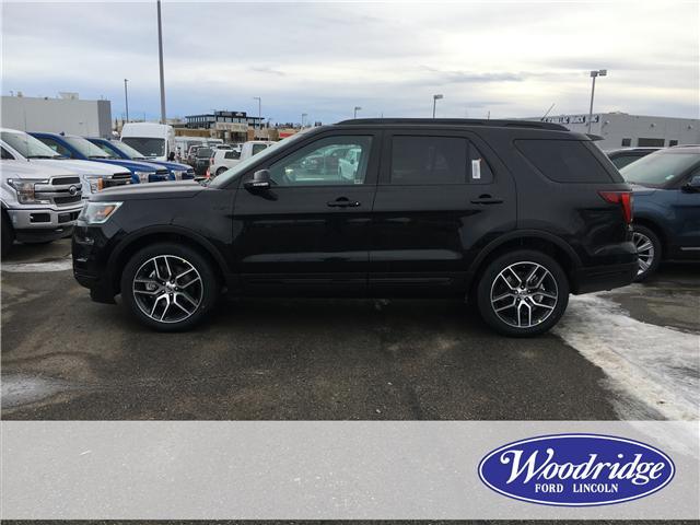 2019 Ford Explorer Sport (Stk: K-253) in Calgary - Image 2 of 5