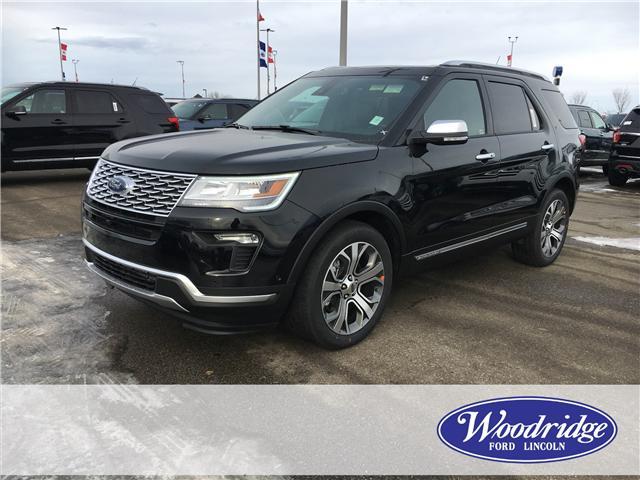 2019 Ford Explorer Platinum (Stk: K-257) in Calgary - Image 1 of 5