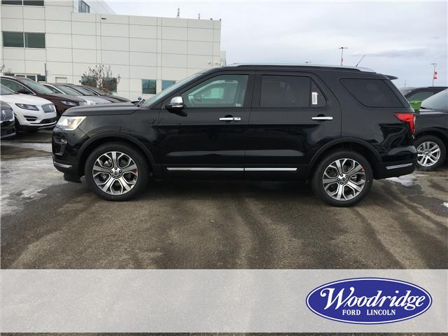 2019 Ford Explorer Platinum (Stk: K-257) in Calgary - Image 2 of 5