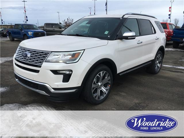 2019 Ford Explorer Platinum (Stk: K-258) in Calgary - Image 1 of 5