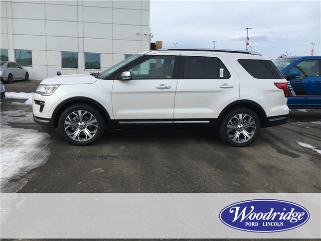 2019 Ford Explorer Platinum (Stk: K-258) in Calgary - Image 2 of 5