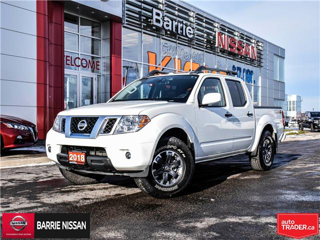 2018 Nissan Frontier PRO-4X (Stk: P4520) in Barrie - Image 1 of 28