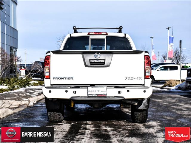 2018 Nissan Frontier PRO-4X (Stk: P4520) in Barrie - Image 6 of 28