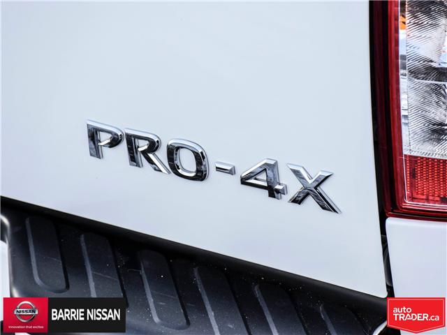 2018 Nissan Frontier PRO-4X (Stk: P4520) in Barrie - Image 11 of 28