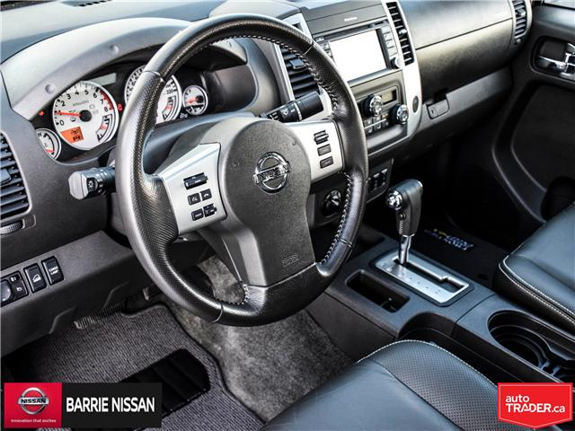 2018 Nissan Frontier PRO-4X (Stk: P4520) in Barrie - Image 14 of 28