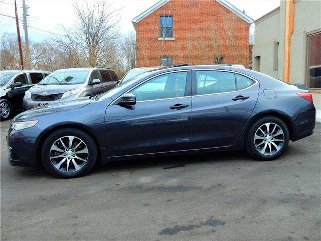 2015 Acura TLX Tech (Stk: 19UUB1) in Kitchener - Image 4 of 9
