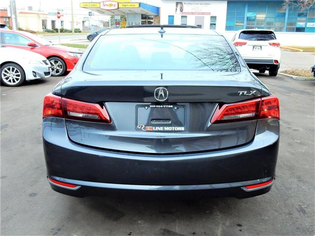 2015 Acura TLX Tech (Stk: 19UUB1) in Kitchener - Image 6 of 9