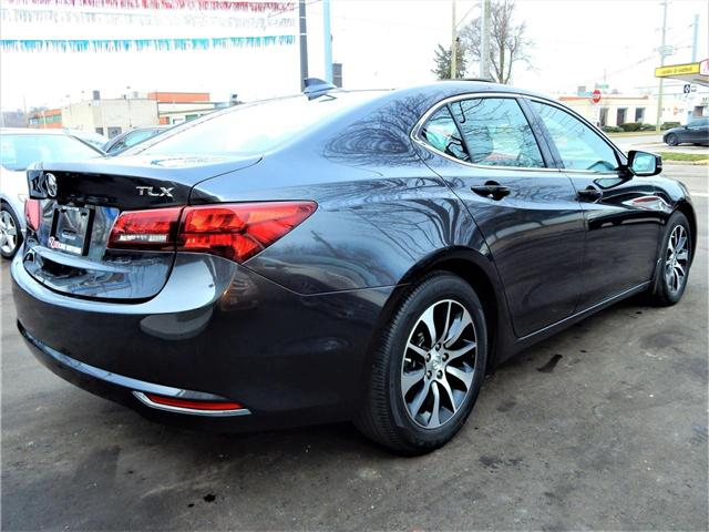 2015 Acura TLX Tech (Stk: 19UUB1) in Kitchener - Image 7 of 9