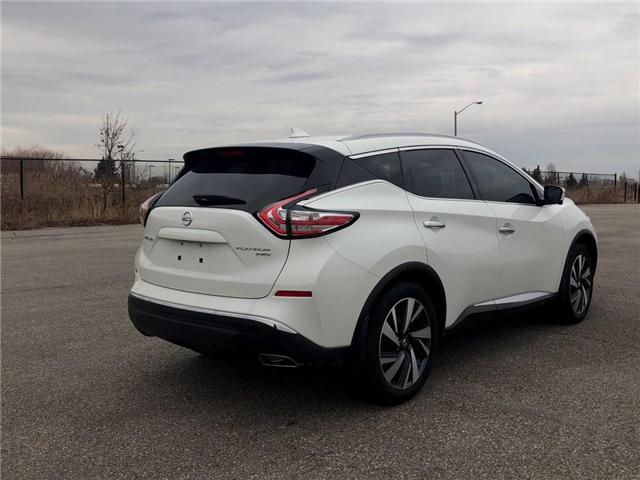 2017 Nissan Murano Platinum (Stk: M9667A) in Scarborough - Image 5 of 21