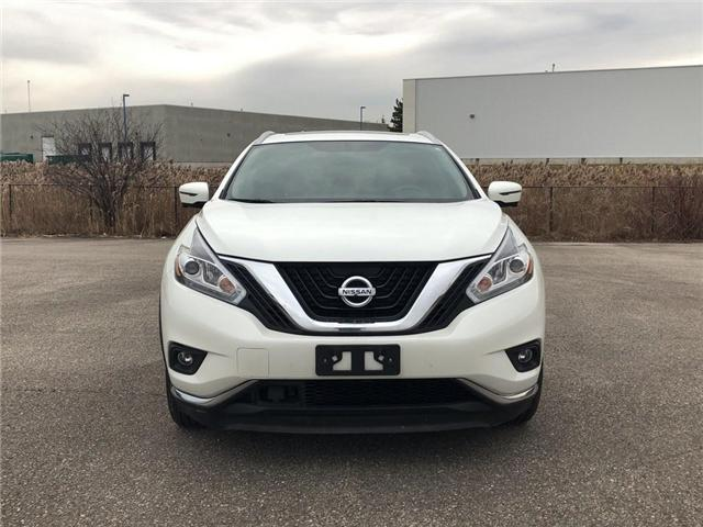 2017 Nissan Murano Platinum (Stk: M9667A) in Scarborough - Image 8 of 21