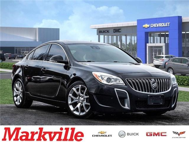 2015 Buick Regal GS-NAVI-ROOF-GM CERTIFIED PRE-OWNED-1 OWNER! (Stk: 139029A) in Markham - Image 1 of 28