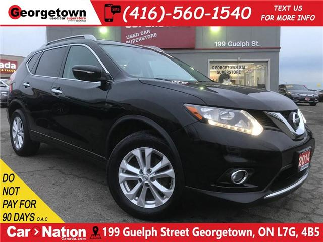 2014 Nissan Rogue SV | ONLY 75K | CLEAN CARFAX | PANO ROOF | BU CAM (Stk: P11705) in Georgetown - Image 1 of 30