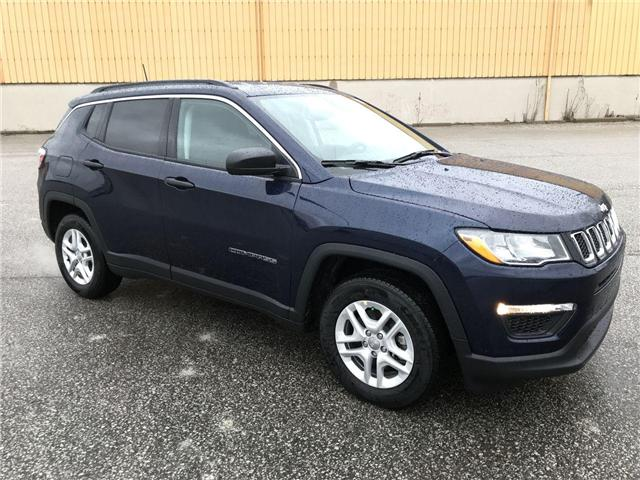 2019 Jeep Compass Sport (Stk: 19668) in Windsor - Image 1 of 11